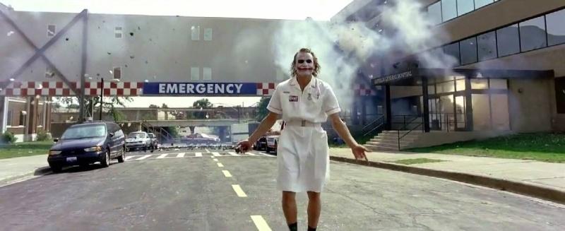 ジョーカー 病院